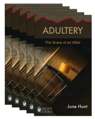 Adultery: The Snare of an Affair - 5 Pack   -     By: June Hunt