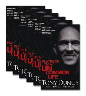 Playbook for an Uncommon Life 6-Pack  -     By: Tony Dungy, Nathan Whitaker