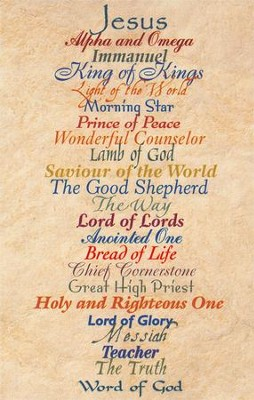 Names of Jesus, Postcards, 25   -