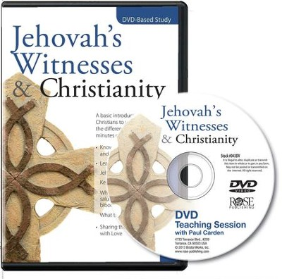 Jehovah's Witnesses and Christianity Single Session DVD  -     By: Paul Cardin