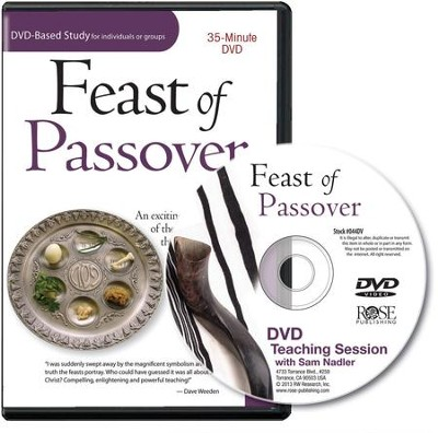 Feast of Passover Single Session DVD  -     By: Sam Nader