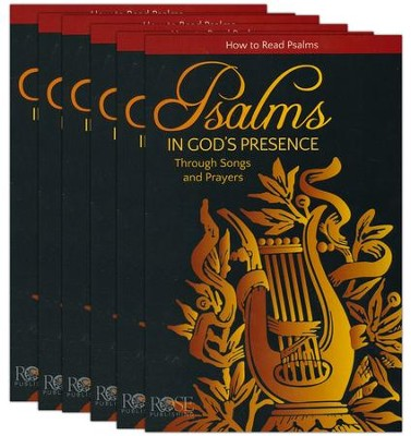 Psalms: In God's Presence Through Songs and Prayers, Pamphlet -  5 Pack  -