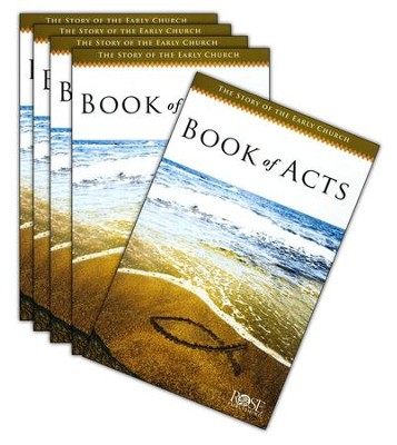 Book of Acts Pamphlet - 5 Pack  -
