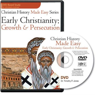Early Christianity: Growth & Persecution Single Session DVD  -     By: Timothy Jones