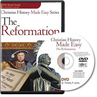 The Reformation, Single Session DVD   -     By: Timothy Jones