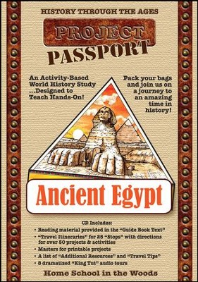 HISTORY Through the Ages Project Passport World History Study: Ancient Egypt PDF CD-ROM  -