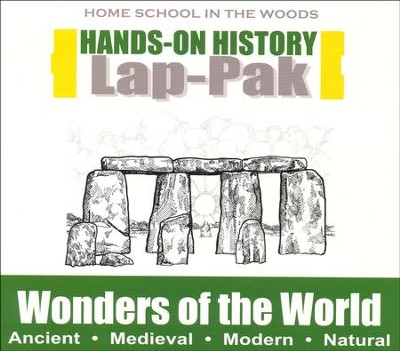 Hands-On History Lap Pak on CD-ROM: Wonders of the  World (Grades 3-8)  -