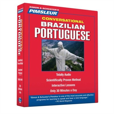 Portuguese (Brazilian), Conversational: Learn to Speak and Understand Brazilian Portuguese with Pimsleur Language Programs, Unabridged  -     By: Pimsleur