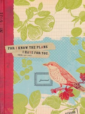 For I Know the Plans Journal  -     By: Ellie Claire