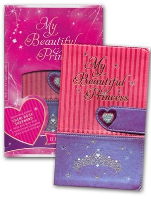 NLT My Beautiful Princess Bible for Little Girls, Imitation Leather  -