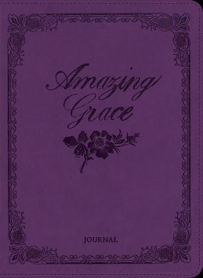 Amazing Grace Journal, Deluxe Edition   -     By: Ellie Claire