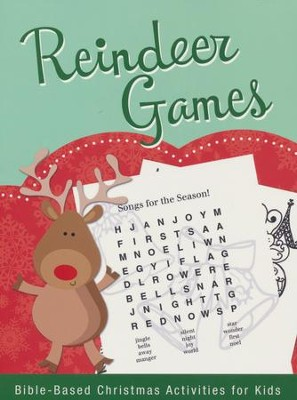 Reindeer Games: Bible-Based Christmas Activities for Kids  -     By: Rebecca Currington