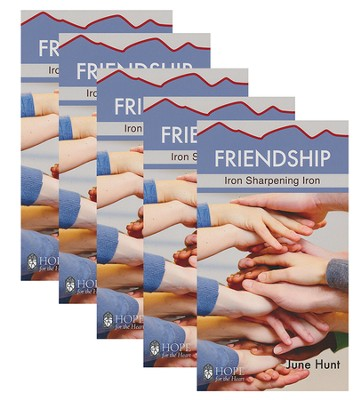 Friendship: Iron Sharpening Iron - 5 Pack   -     By: June Hunt