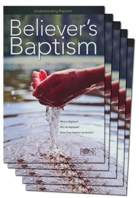 Believers' Baptism: Pamphlet 5-pack  -