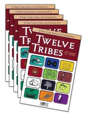 Twelve Tribes of Israel: Pamphlet 5-pack  -