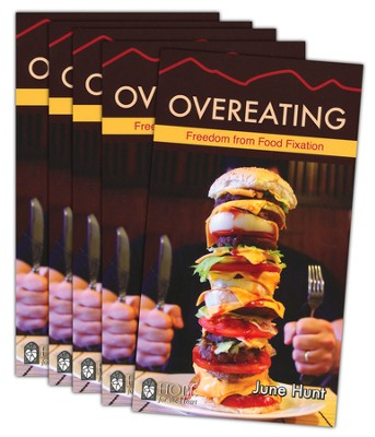 Overeating: Freedom From Food Fixation - 5-pack   -     By: June Hunt