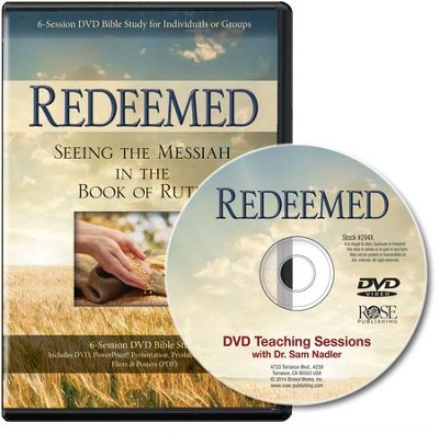 Redeemed: Seeing the Messiah in the Book of Ruth, DVD and PDF Leader's Guide   -