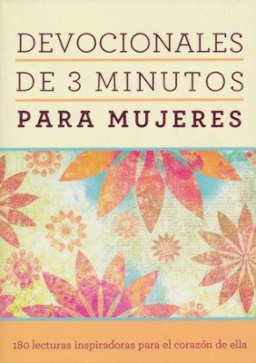 Devocionales de 3 Minutos para Mujeres  (3-Minute Devotions for Women)  -