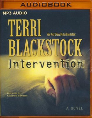 #1: Intervention: A Novel - unabridged audio book on MP3-CD  -     By: Terri Blackstock
