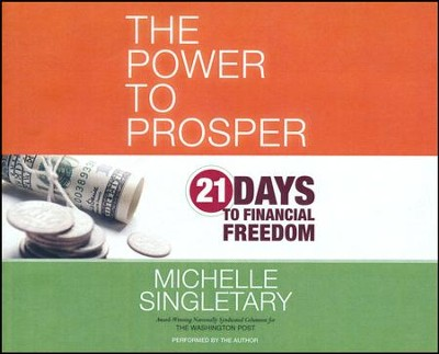 Power to Prosper: 21 Days to Financial Freedom - unabridged audio book on CD  -     By: Michelle Singletary