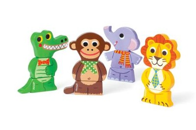 Magnetic Jungle Animals  -