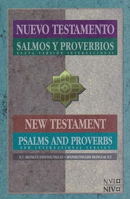 NVI / NIV Spanish/English New Testament with Psalms & Proverbs  -