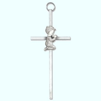 Praying Boy Wall Cross  -