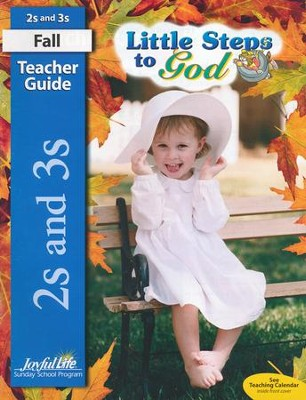 Little Steps to God Teacher Guide (Ages 2 & 3; 2015 Edition)  -