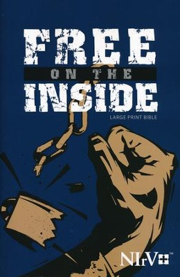 NIrV Free on the Inside Prison Bible - Large Print  -