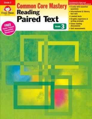 Reading Paired Text: Lessons for Common Core Mastery, Grade 3  -