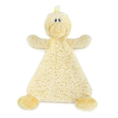 Daddles Duck Rattle Blankie  -