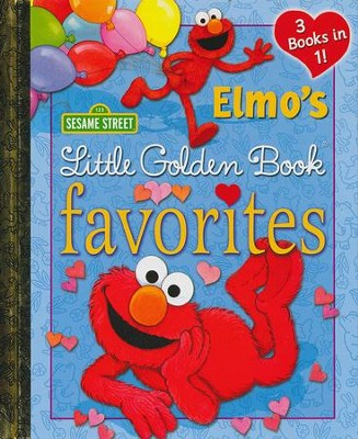 Elmo's Little Golden Book Favorites (Sesame Street)  -     By: Constance Allen, Sarah Albee     Illustrated By: Maggie Swanson