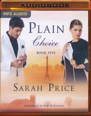 #5: Plain Choice, The Plain Fame Series - unabridged audio book on MP3-CD  -     By: Sarah Price