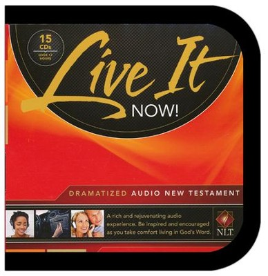 NLT Live It Now! Dramatized Audio New Testament, Audio-CD  -