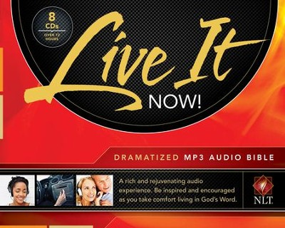 NLT Live It Now! Dramatized Audio Bible, MP3  -