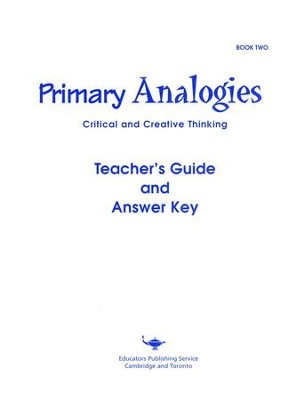 Primary Analogies, Book 2, Teacher's Guide   -