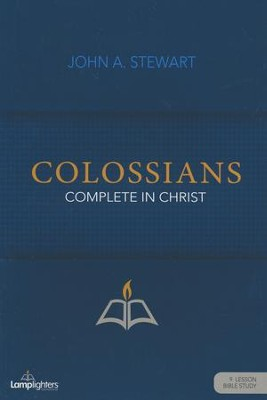 Colossians Study Guide  -     By: John Stewart