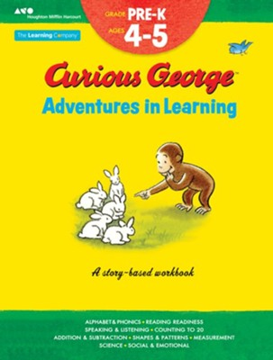 Curious George Adventures in Learning, Pre-K: Story-based learning  -