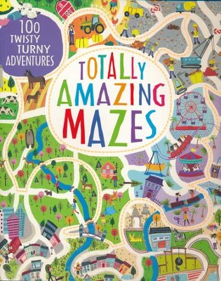 Totally Amazing Mazes  -     By: Parragon Books