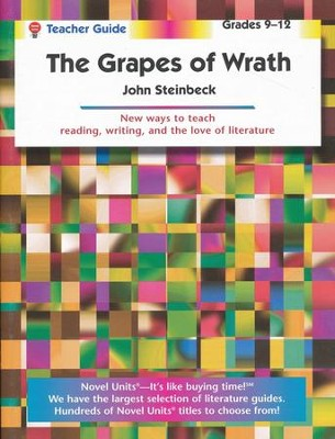 The Grapes of Wrath, Novel Units Teacher's Guide, Grades 9-12   -     By: John Steinbeck