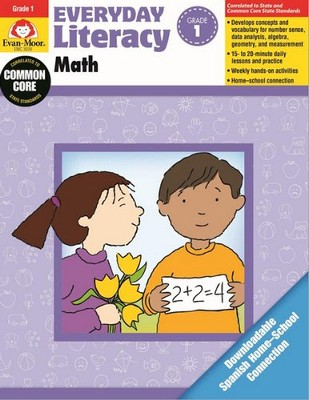 Everyday Literacy: Math, Grade 1   -