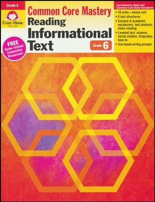 Reading Informational Text Grades 6 & Up    -