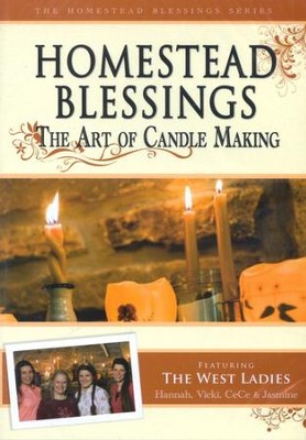 Homestead Blessings: The Art of Candle Making DVD   -