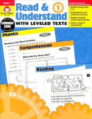 Read & Understand with Leveled Texts, Grade 1   -