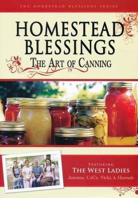 Homestead Blessings Two: The Art of Canning DVD   -