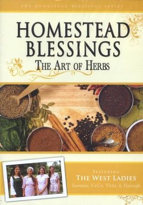 Homestead Blessings Two: The Art of Herbs DVD   -