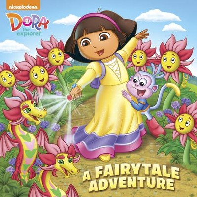 A Fairytale Adventure (Dora the Explorer)  -     By: Mary Tillworth     Illustrated By: Mike Jackson