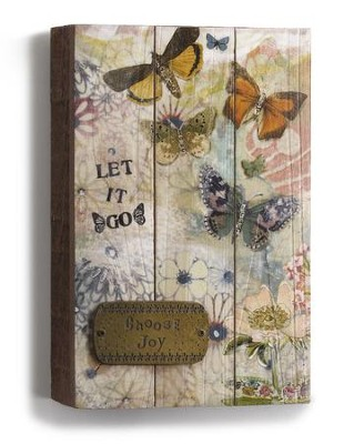 Choose Joy Wall Plaque  -     By: Kelly Rae Roberts