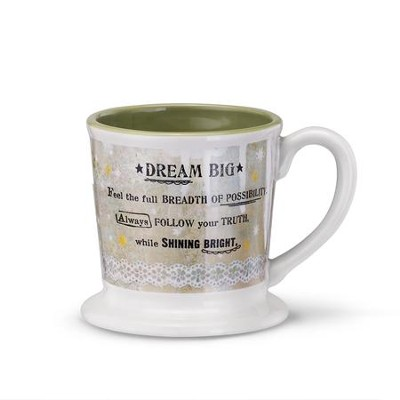 Dream Big Mug  -     By: Kelly Rae Roberts