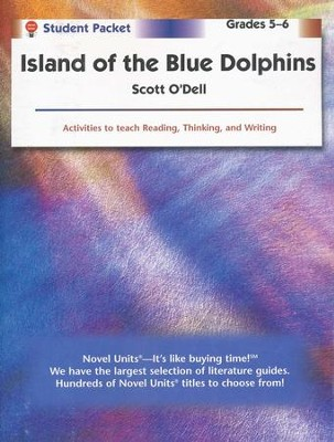 Island of the Blue Dolphins Novel Units S. Packet, Grades 5-6   -     By: Scott O'Dell